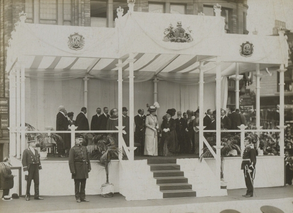 Visit of King George V and Queen Mary to Accrington, 9th July 1913